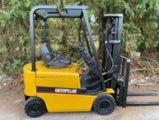 Caterpillar 1.6 tonne Electric Forklift,