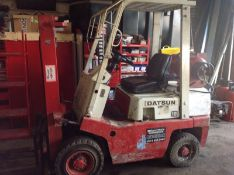 Datsun 1.8 Tonne Gas Forklift