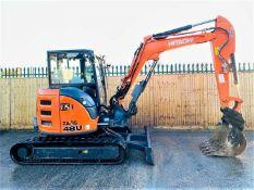 Hitachi ZX48U-5A CLR Excavator 2017