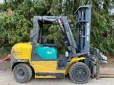 Komatsu 4 tonne diesel forklift