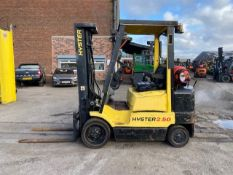 Hyster S2.50XM LP Gas Forklift