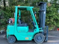 Mitsubishi 2.5 tonne gas Forklift