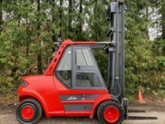 Linde H80D-900, 8 tonne diesel forklift