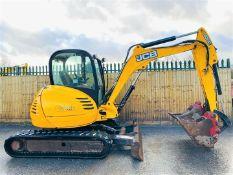 JCB 8055 RTS Excavator 2014