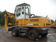 Liebherr 924C Scrap / Waste Rehandler, 2011, very