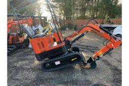 Mini Digger Excavator Hercules 1 Ton Diesel