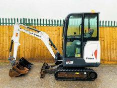Bobcat E19 Excavator / Digger (2015) EXC-1316