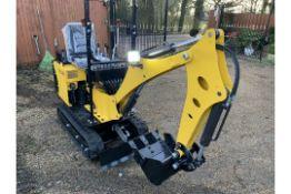 Mini Digger Excavator Hercules