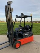 Details about Linde 1.4 Tonne Electric forklift truck