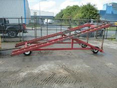 Loading ramp container ramps dock forklift yard