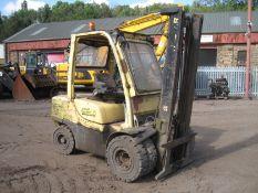 Hyster Diesel Forklift, 2007, 3.5 tonne diesel for