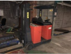 Peterman Forklift Truck (electric) & Charger