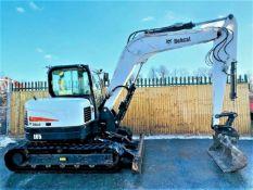 Bobcat E85 Excavator 2017