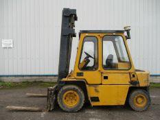 CAT V80 E fork lift diesel 3.6 ton Perkins 4 engin