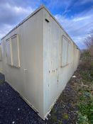 32ft x 10ft Open plan site office