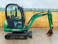 JCB 8018 Excavator 2015 Year / 2016 Model