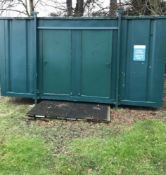 16ft 4 Bay Shower Block Welfare Unit, Site Cabin