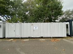 32ft X 10ft 5 + 3 Male And Female Toilet Block, Wc