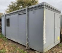 20ft Site Office, Staffroom, Drying Room Container