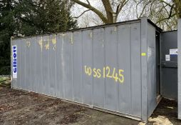 20ft x 8ft shipping container/ Secure Store, site
