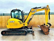 JCB 8050 RTS Excavator 2015