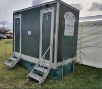 Male & Female towable Portable Toilet Block, Event