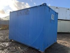 12ft Portable Office Site Cabin Drying Room