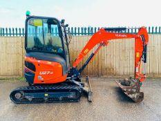 Kubota U27-4 Excavator Digger 2019