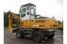 Liebherr 924C Scrap / Waste Rehandler