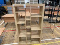 Storage Cabinet x 1 , faux Wooden