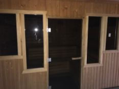 10 Person LED sauna