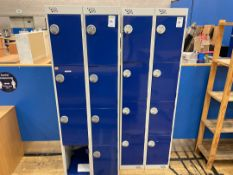 Pigeon Hole Lockers x 2, Dual Bank