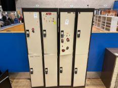 Lockers x 2, Dual Bank