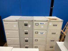 Filing Cabinets x 4