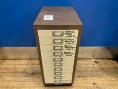 Bisley 10 Drawer Cabinet x 1