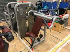 Technogym shoulder press machine