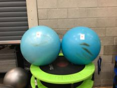 Gym balls x 2