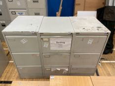 Filing Cabinets x 3