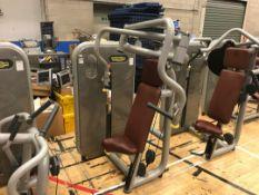 Technogym chest press machine