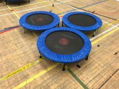 Fitness trampolines x 3