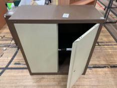 Storage Cabinet Double Door Shelved x 1