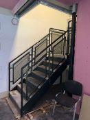 Steel Staircase from Mezzanine Floor