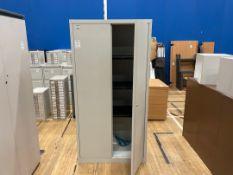 Storage Cabinet Double Door Tall Shelved x 1