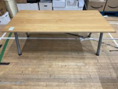 Topped Table x 1 Wooden