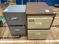 Filing Cabinets x 2, 2 Drawer