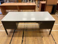 Desk x 1, faux Wooden