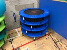 Fitness trampolines x 4