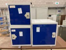 Storage Cabinets Single Door x 3