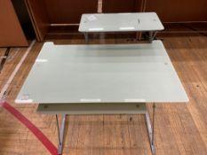 Computer Desk x 1, Glass