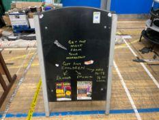 Chalk Display Board x 1